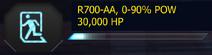 R700AA 10POWIncrements 30000HP