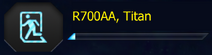 R700AA 6-Titan