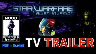 Starwarfare Alien Invasion Trailer (Fan-Made)
