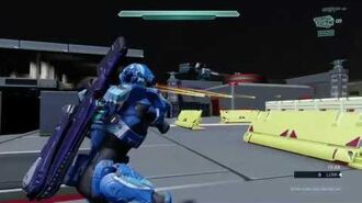Halo 5 Forge; Air Crash