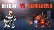 Helium vs Cerberlisk