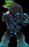 Black Hole Armor with Spring(Transparent)