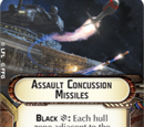 Assault Concussion Missiles