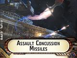 Assault Concussion Missiles