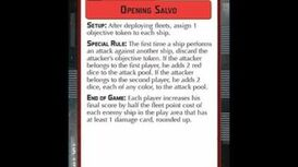 """How-to play Objective """"Opening Salvo"""" - Star Wars Armada Explained (SWAE)"""