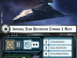Imperial Star Destroyer Cymoon 1 Refit