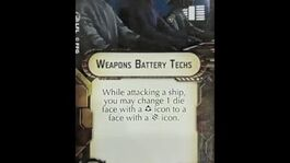 """How-to use Weapons Team """"Weapons Battery Techs"""" - Star Wars Armada Explained (SWAE)"""