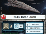 MC80 Battle Cruiser