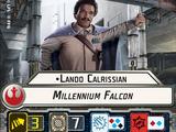 Lando Calrissian Millenium Falcon