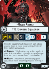 Major Rhymer TIE Bomber Squadron