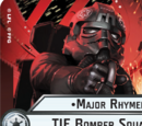 Major Rhymer TIE Bomber Squadron