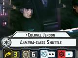Colonel Jendon Lambda-class Shuttle