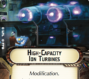 High-Capacity Ion Turbines