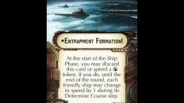 """Star Wars Armada explained How-to use Fleet Command """"Entrapment Formation!"""""""