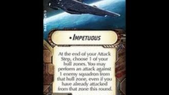 """How-to use Title """"Impetuous"""" - Star Wars Armada Explained (SWAE)"""