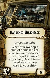 Hardened Bulkheads