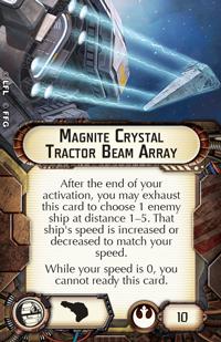 Swm32 megnite-crystal-tractor-beam-array