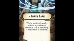 """How-to use Officer """"Toryn Farr"""" - Star Wars Armada Explained (SWAE)"""