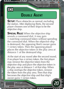 Objective-green Double Agent