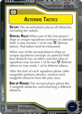 Objective-yellow Asteroid Tactics
