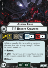 Captain Jonus TIE Bomber Squadron