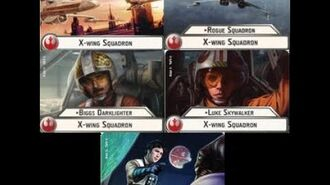 """How-to use Squadron """"Xwing"""" (and uniques) - Star Wars Armada Explained (SWAE)"""