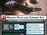 Modified Pelta-class Command Ship