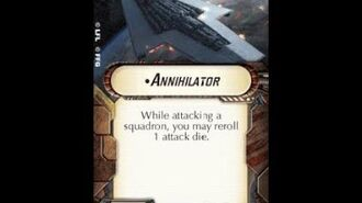 "How-to use Title ""Annihilator"" - Star Wars Armada Explained (SWAE)"