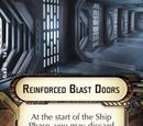 Reinforced Blast Doors