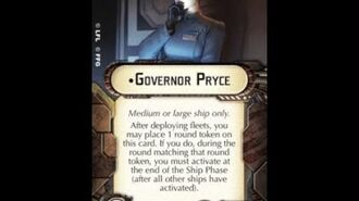 """How-to use Officer """"Governor Pryce"""" - Star Wars Armada Explained (SWAE)"""