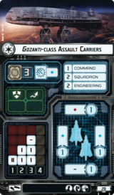Gozanti-class Assault Carriers