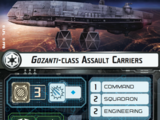 Gozanti-class Assault Carriers