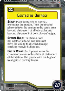 Contested-outpost