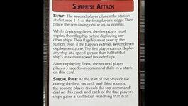 """How-to play Objective """"Surprise Attack"""" - Star Wars Armada Explained (SWAE)"""
