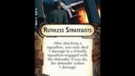 """How-to use Weapons Team """"Ruthless Strategists"""" - Star Wars Armada Explained (SWAE)"""