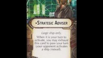 """How-to use Officer """"Strategic Adviser"""" - Star Wars Armada Explained (SWAE)"""