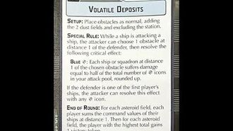 """How-to play Objective """"Volatile Deposits"""" - Star Wars Armada Explained (SWAE)"""