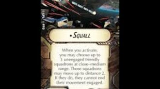 """How-to use Title """"Squall"""" - Star Wars Armada Explained (SWAE)"""