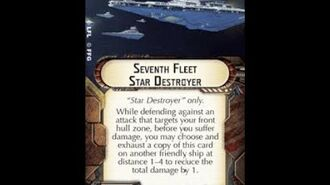 """How-to use Title """"7th Fleet Star Destroyer"""" - Star Wars Armada Explained (SWAE)"""