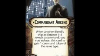 """How-to use Officer """"Commandant Aresko"""" - Star Wars Armada Explained (SWAE)"""