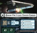 Quasar Fire I-class Cruiser-Carrier
