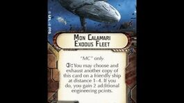 "How-to use Title ""Mon Calamari Exodus Fleet"" - Star Wars Armada Explained (SWAE)"