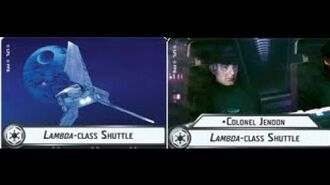 "How-to use Squadron ""Lambda-class Shuttle"" (and Uniques) - Star Wars Armada Explained (SWAE)"