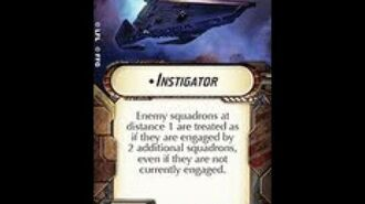 """How-to use Title """"Instigator"""" - Star Wars Armada Explained (SWAE)"""