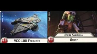"""How-to use Squadron """"VCX-100 Freighter"""" (and Uniques) - Star Wars Armada Explained (SWAE)"""
