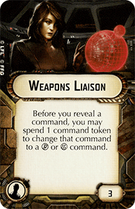 Weapons Liaison