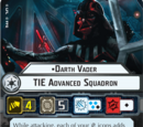 Darth Vader TIE Advanced Squadron