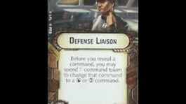 """How-to use Officer """"Defense Liaison"""" - Star Wars Armada Explained (SWAE)"""