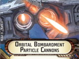 Orbital Bombardment Particle Cannons