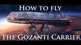 Captain's Clinic - How to fly Gozanti Carrier Flotillas